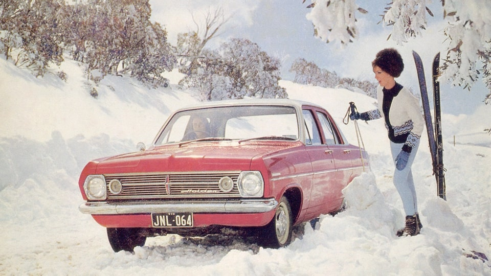 1970s Red Holden and Snow