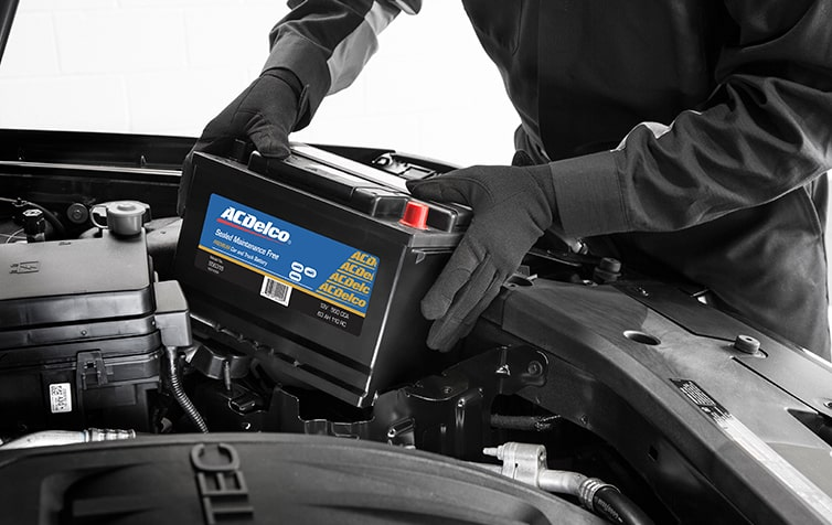 ACDelco Battery Being Installed